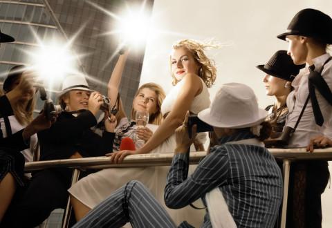 Takto si to mnozí představují: Rychle zazářit a být navždy slavný. Leč, tak snadné to není... Ilustrace: © Depositphotos.com/Nejron