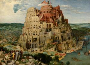 Proč je tady ta Babylonská věž Pieter Bruegel staršího? Může být ilustrací k tématu zmatení jazyků. Jenže pravda je jiná – má vás, čtenáře, přitáhnout a přinutit zastavit se na této stránce. A přečíst si text rozhovoru. Funguje to, že? I to je komunikace. Foto: Wikimedia Commons